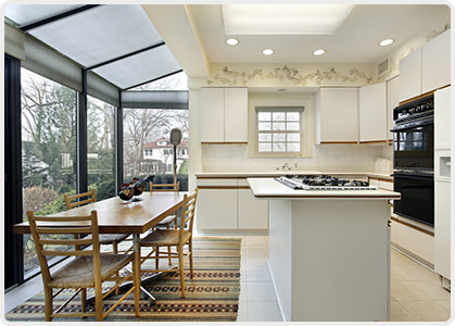Lean-To Kitchen Conservatory